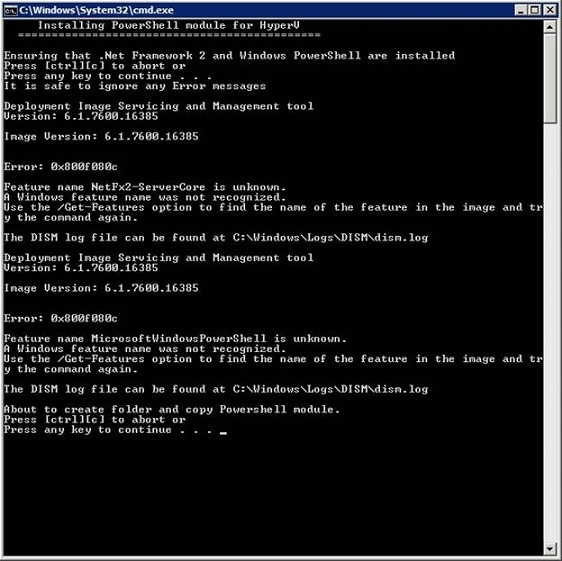 Managing Hyper-V From the Command Line (Part 1)