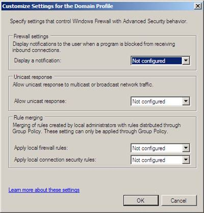 Windows Firewall: Domain Networks, Private Networks, and Public Networks