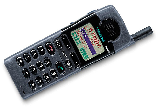 Siemens-S10 launched in1998