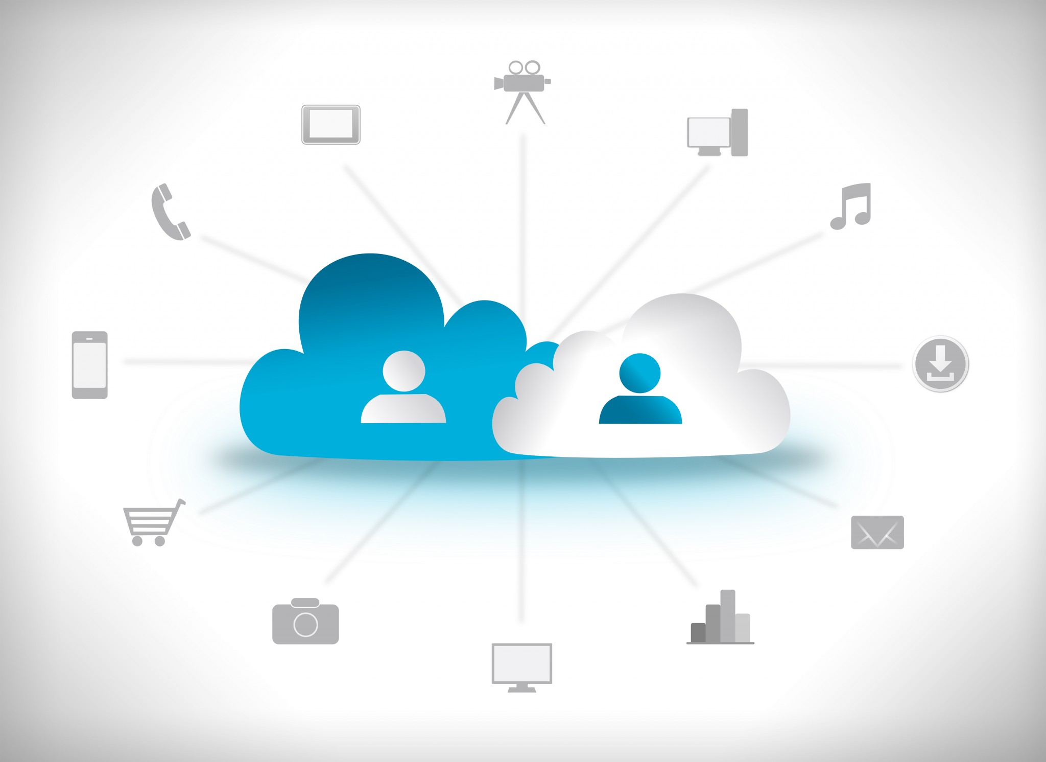 Possible components of the public cloud