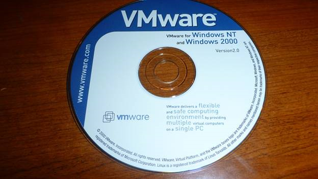 VMware installation CD