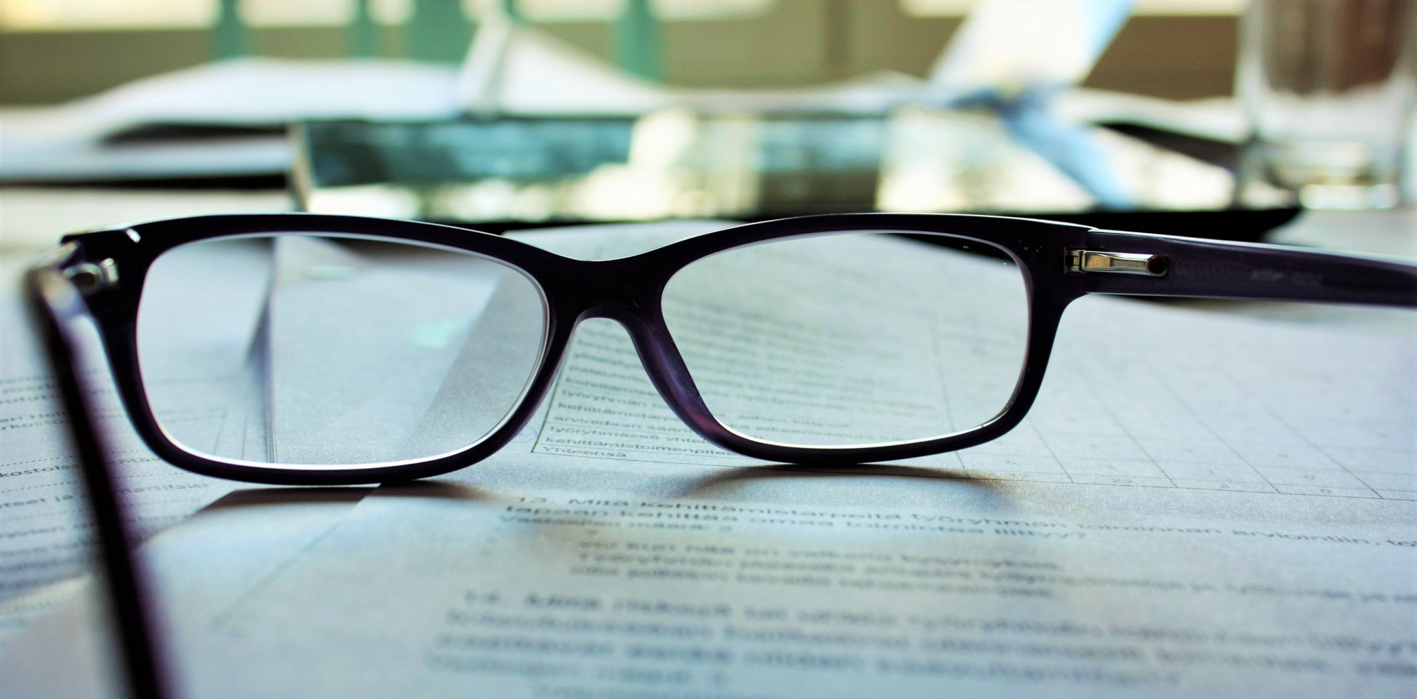 IT pros often suffer from eyestrain from excessive looking at digital screens