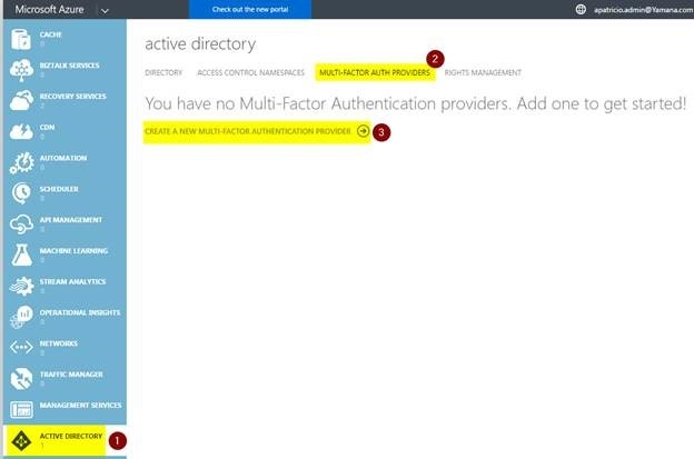 Multi-factor auth providers