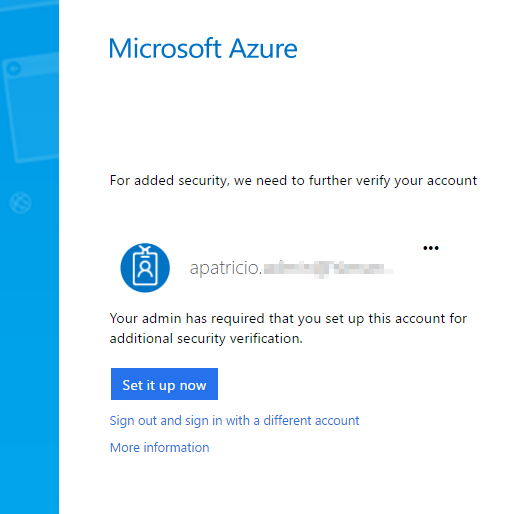 Azure tulti-factor authentication testing