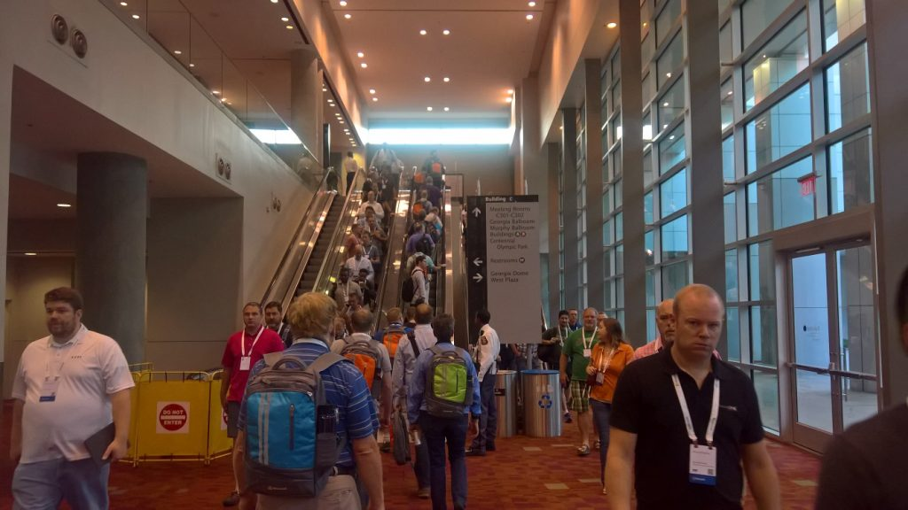 Microsoft Ignite 2016 Conference Hall