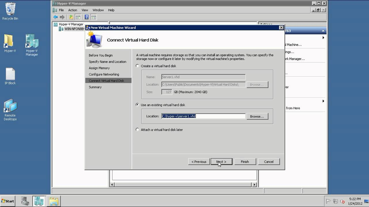 Creating a Hyper-V VM Template Simplified