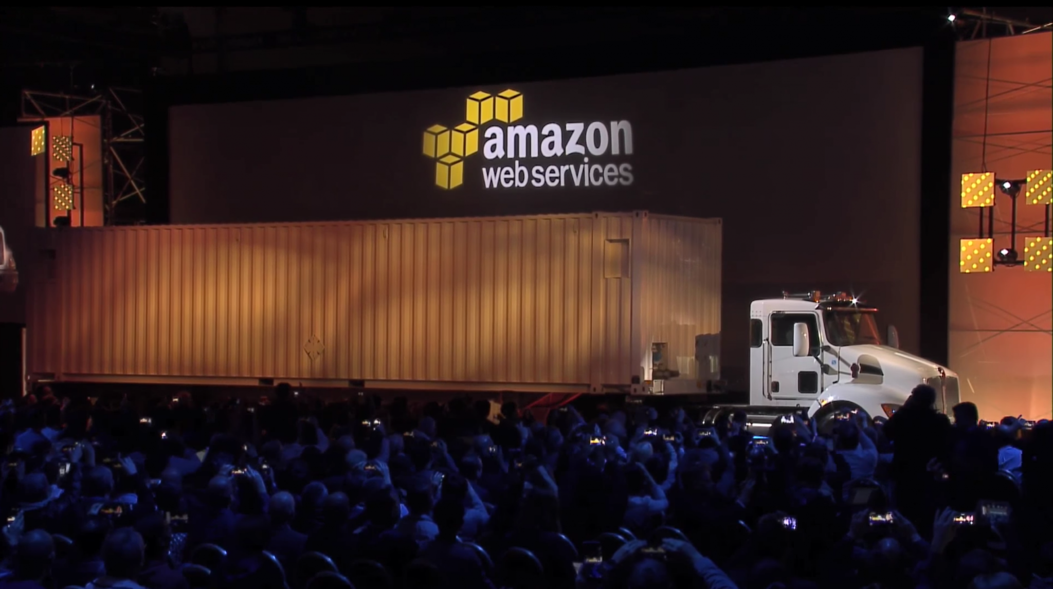 AWS's crazy, genius plan to haul your data to the cloud