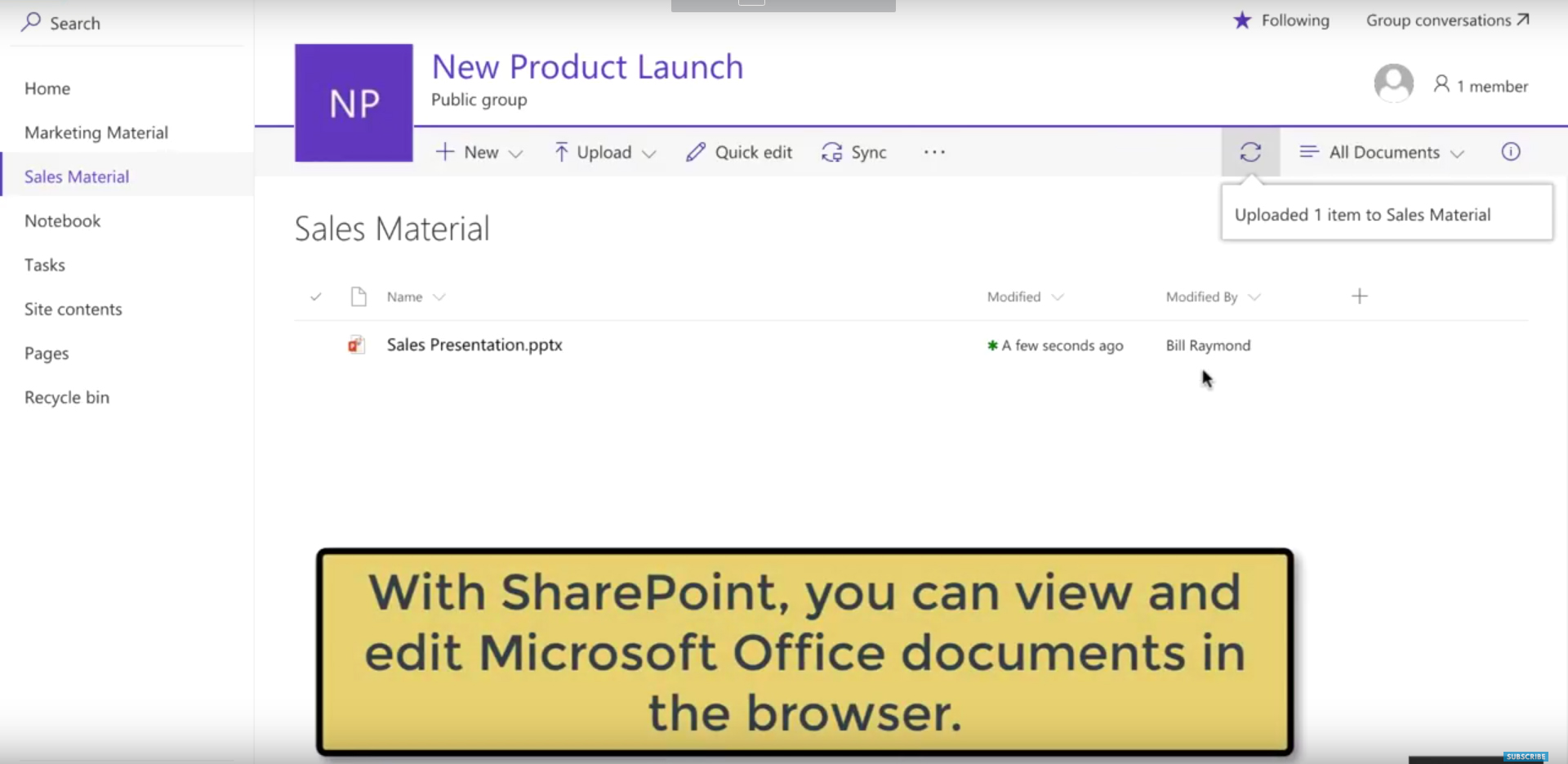 Video: Track and manage documents in SharePoint