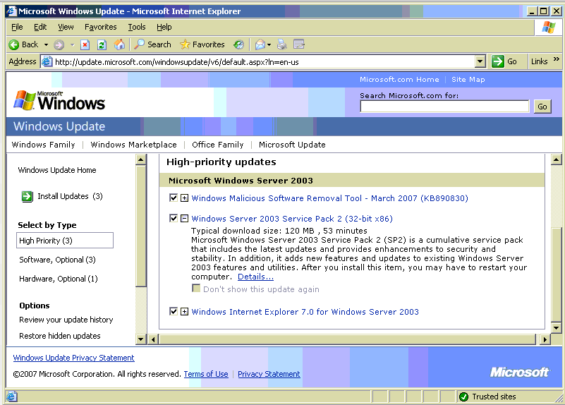 Windows Server 2003 will Live On