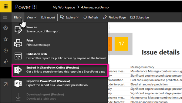 Howto Embed Power Bi Reports In Sharepoint