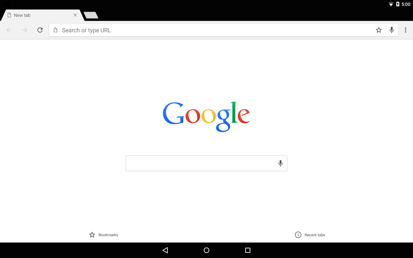 Google Chrome on Android