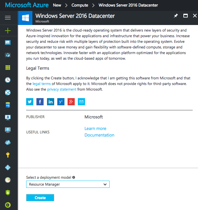 Creating Virtual Machines in Microsoft Azure Portal