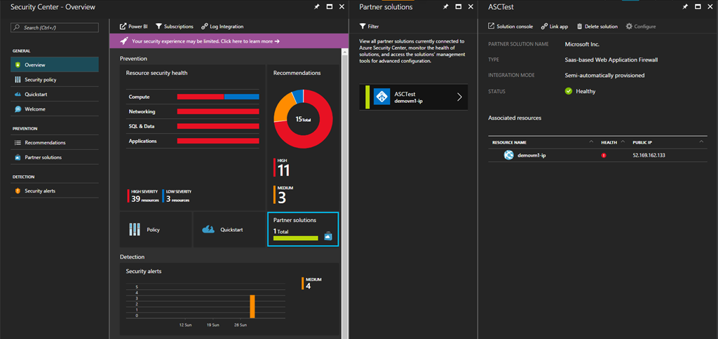 Web Application Firewall for Azure