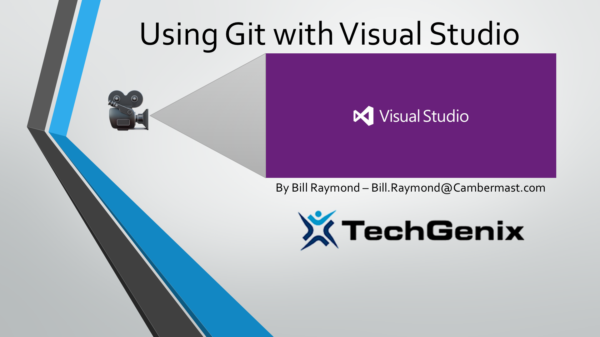 Up and running with git in visual studio video techgenix baditri Choice Image