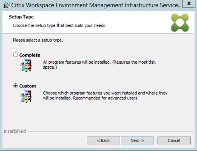Installing Citrix Workspace Environment Management