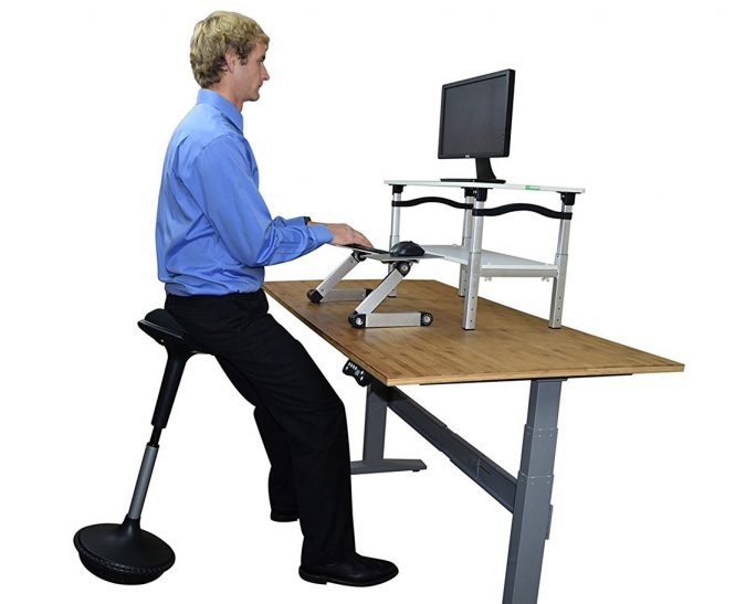 Marvelous No Butts About It Is A Sit Stand Desk The Answer For Home Interior And Landscaping Ponolsignezvosmurscom