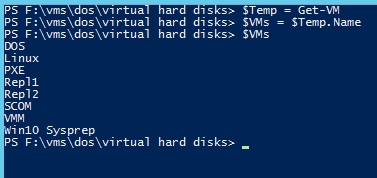 Using PowerShell with Hyper-V VMs to bulk add memory