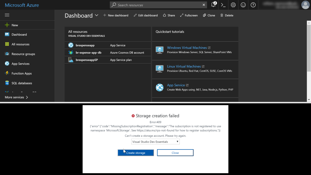 Step-by-step guide: Azure portal Cloud Shell
