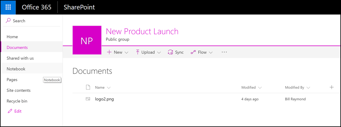 Microsoft Planner SharePoint collaboration site