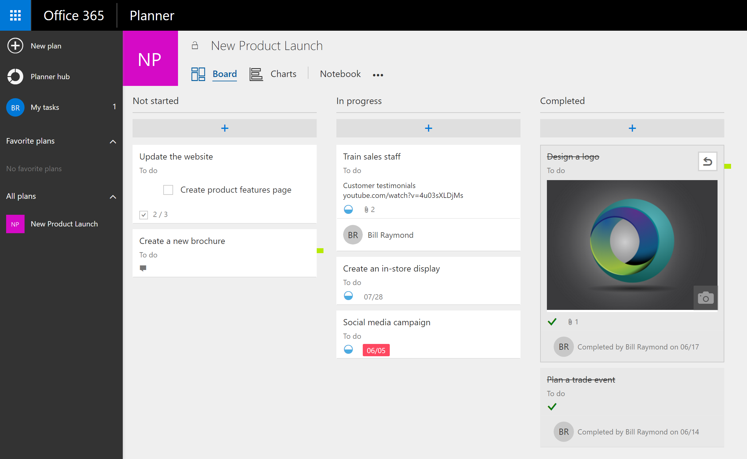 How to work with Microsoft Planner in an Agile environment