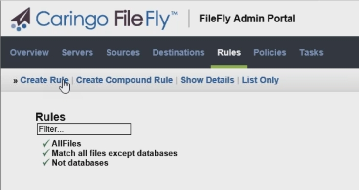 FileFly makes it easy to protect your databases against accidental migration.
