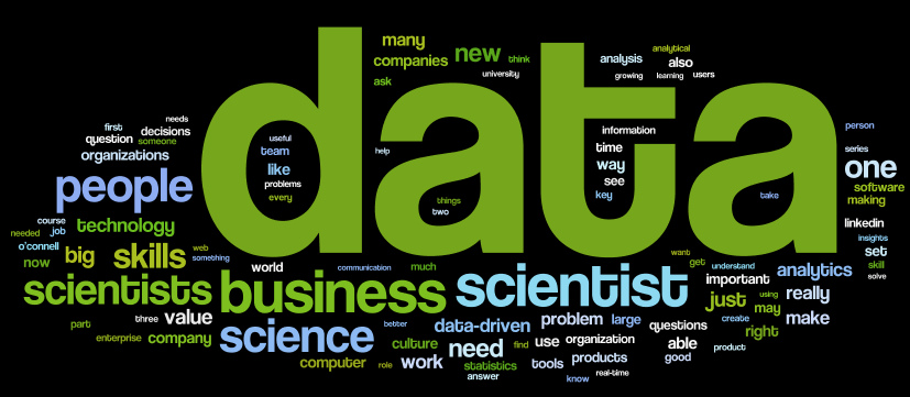 Internal capabilities around data science