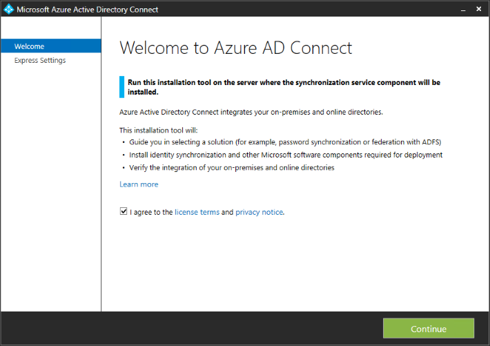 Getting started with Azure AD Connect to manage user identities