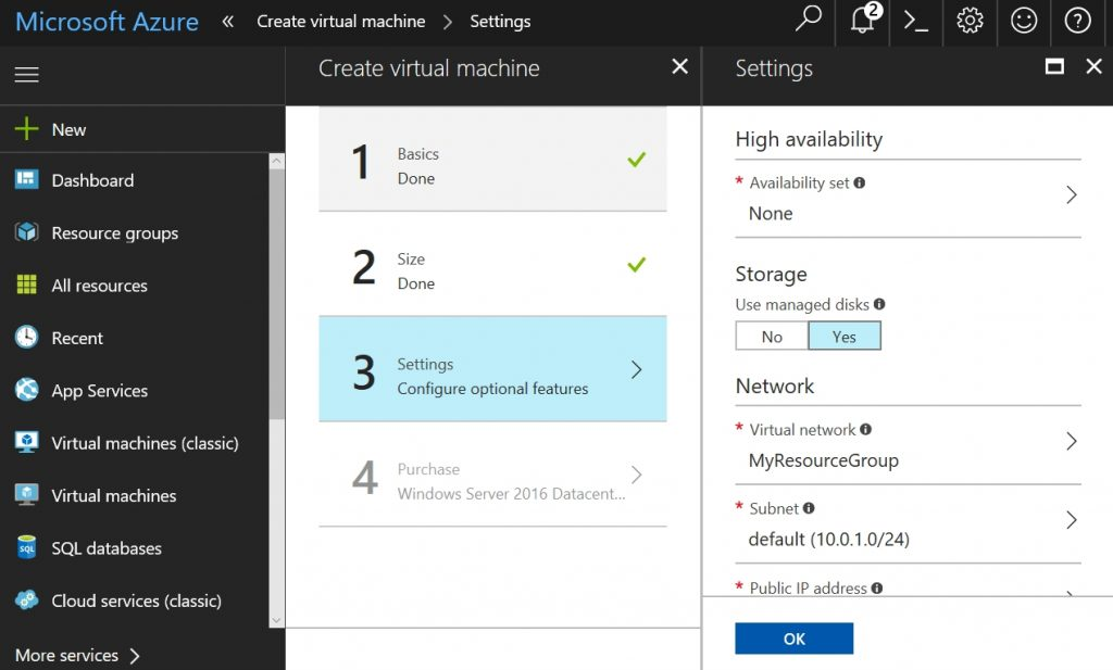nested virtualization in Microsoft Azure