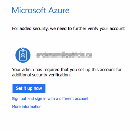 Multi-factor authentication for Azure global admins — enable