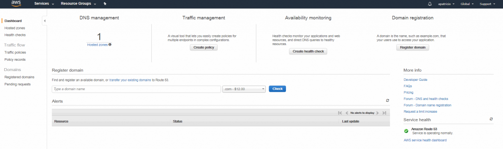 Beat the traffic: Managing DNS using AWS Route 53 service