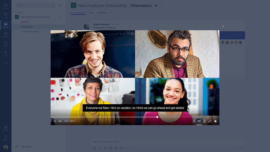 Office 365 intelligent communications vision from Microsoft