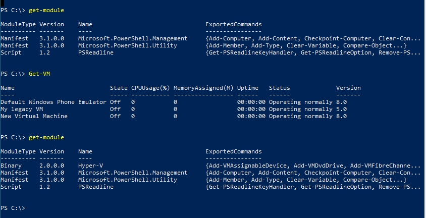powershell errors