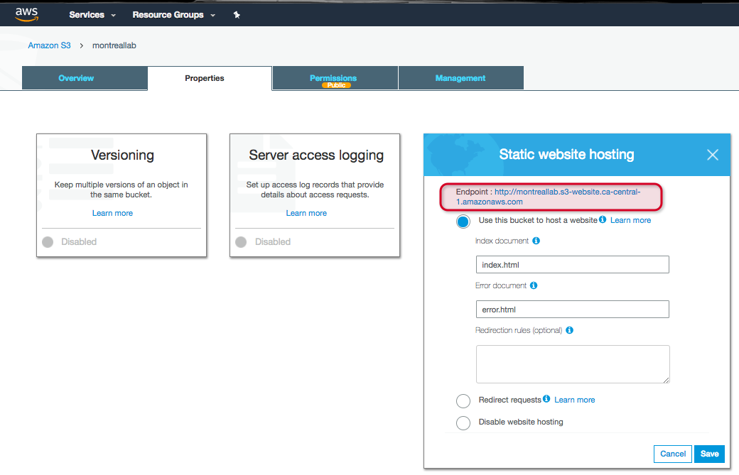 Getting a full-featured website up and running globally with AWS