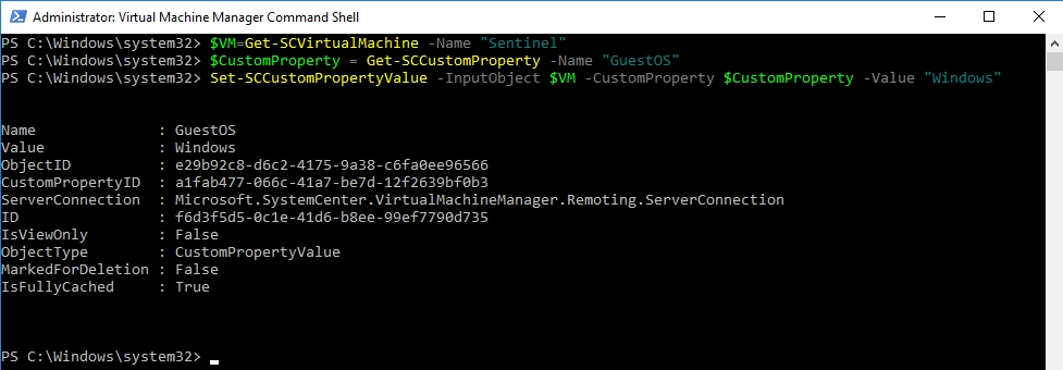Powershell Set Object Property Value