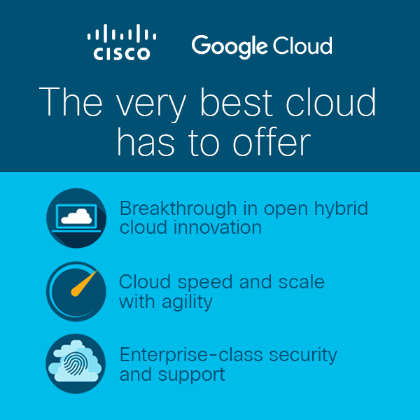 Cisco-Google hybrid cloud