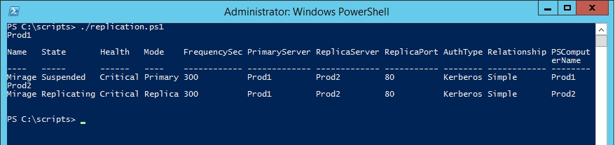 Maintaining Hyper-V replication health with PowerShell