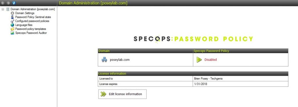 Review of Specops Password Policy