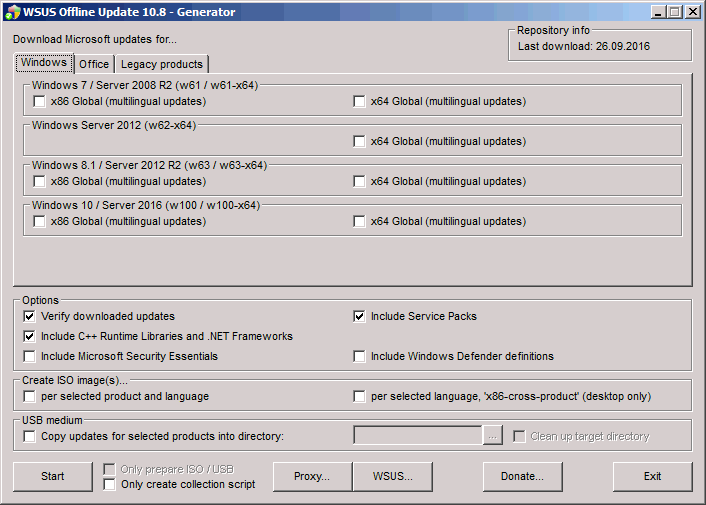 WSUS Offline Update: A lifesaver for patching Windows on