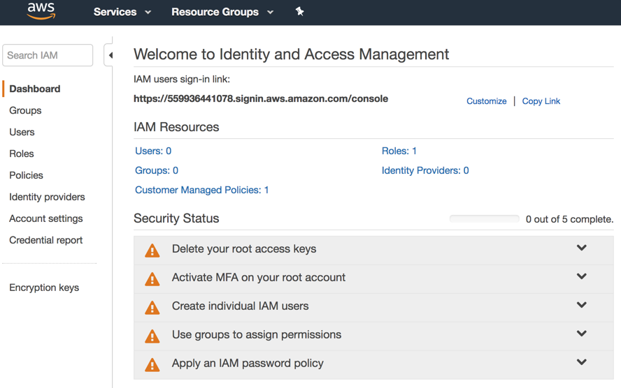 Take control: How to configure and use Amazon's free IAM service