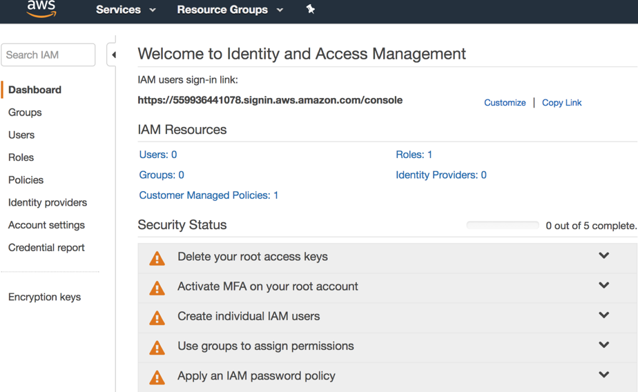 Easy IAM security best practices for a more secure AWS cloud