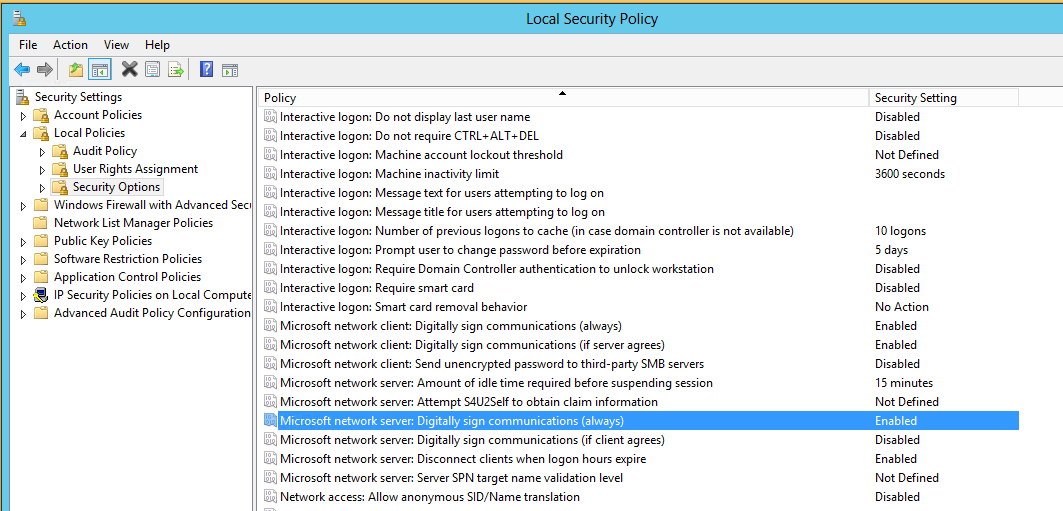All you need to know about Windows SMB signing