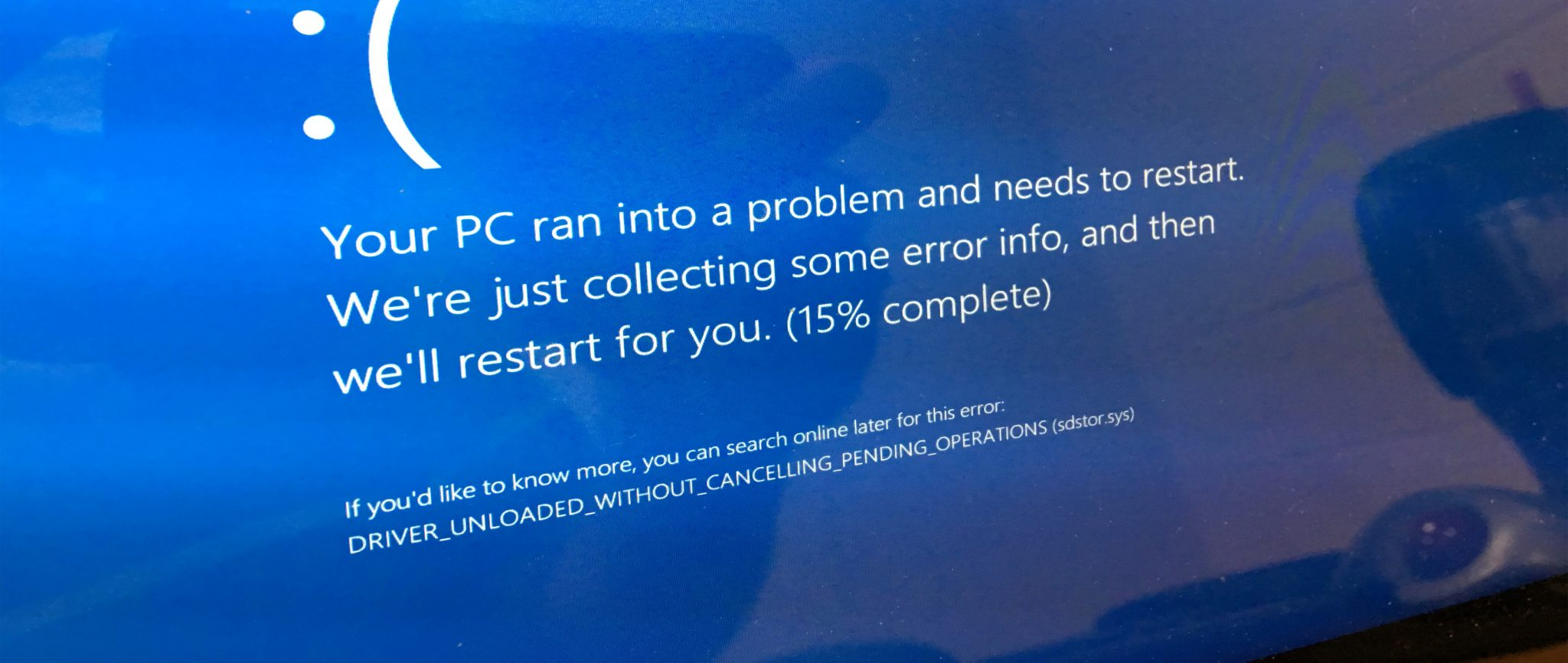 Blue Screen blues: How to fix kernel security check failure