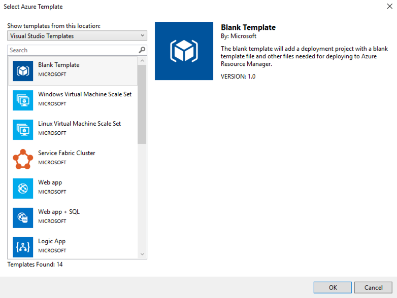 Introduction to managing arm templates with visual studio team services visual studio team services maxwellsz