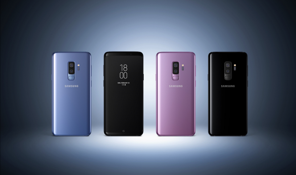 Samsung sets 43m sales target for Galaxy S9 lineup
