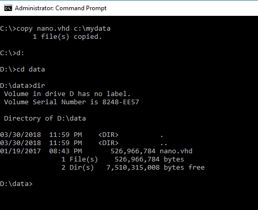 administrator command prompt network drive