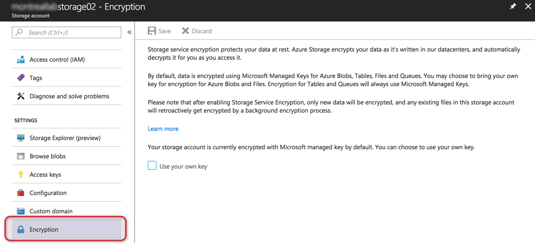 Using azure key vault to achieve data at rest in microsoft azure definitely it will protect your data at rest but some organizations may have a more restricted security requirement and encryption of the vm itself may be maxwellsz