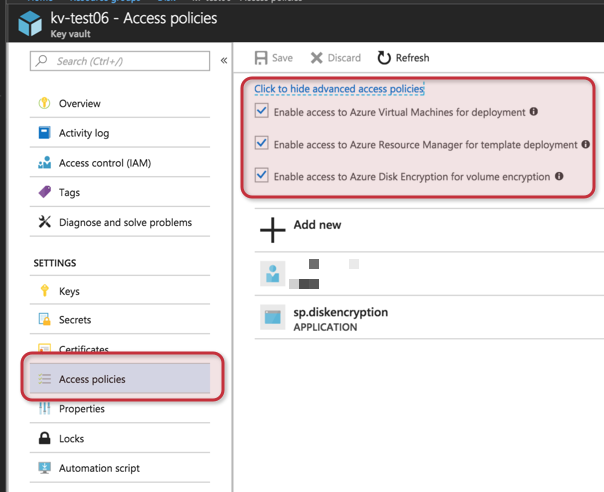 Using Azure Key Vault to achieve data at rest in Microsoft Azure