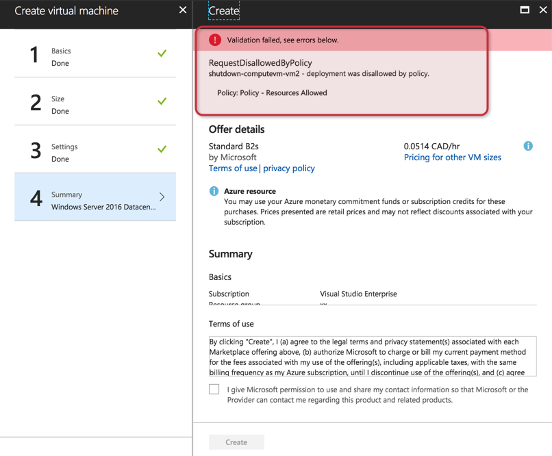 Using Azure Policies to create an extra layer of security and