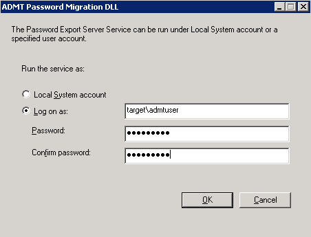 How to: Interforest migration using Active Directory