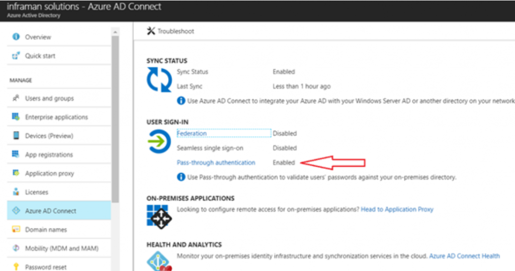 Azure AD Pass-through vs  ADFS: Which do we use for